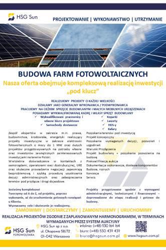 budowa farm słonecznych